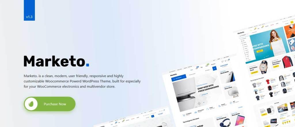 marketo: meilleurs thèmes pour site d'ecommerce