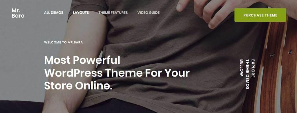 mrbara: meilleurs thèmes pour site d'ecommerce