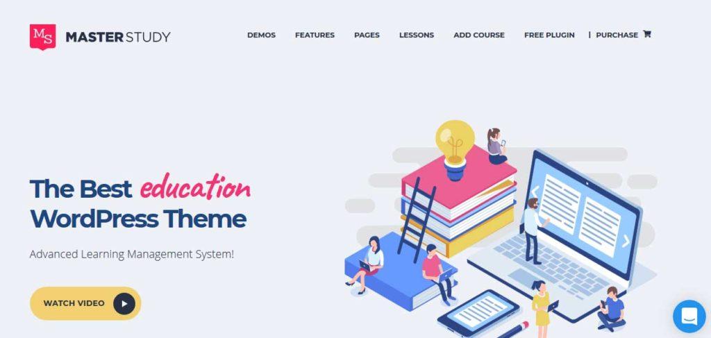 Masterstudy: thèmes wordpress premiums pour site d'éducation