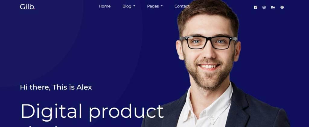 Gilb : thèmes responsives gratuits pour freelance