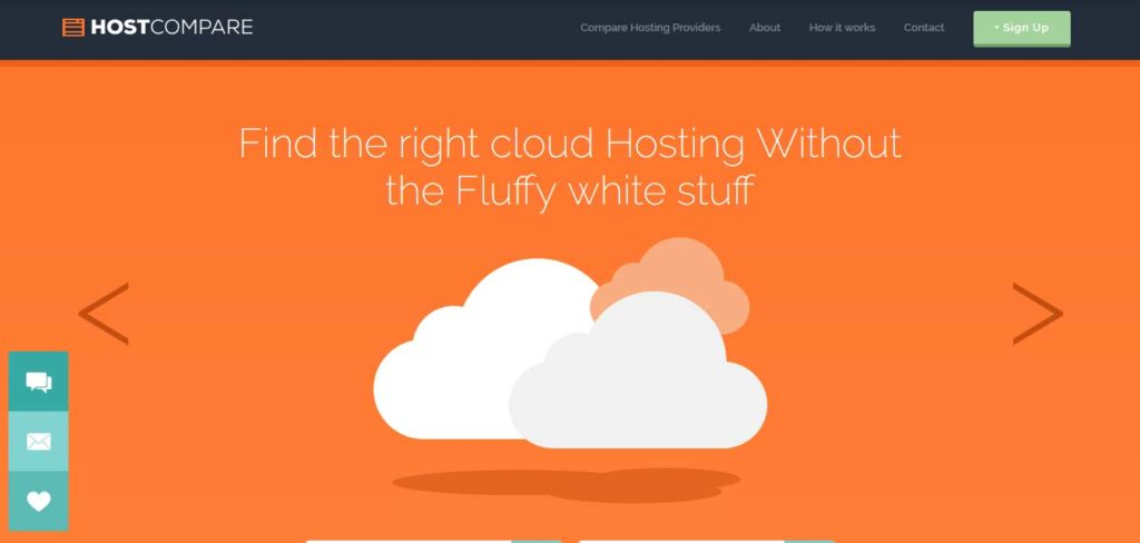 host-compare : template gratuit responsive pour site d'hébergement
