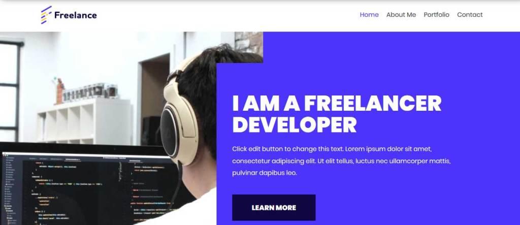 Neve Freelancer : thèmes responsives gratuits pour freelance