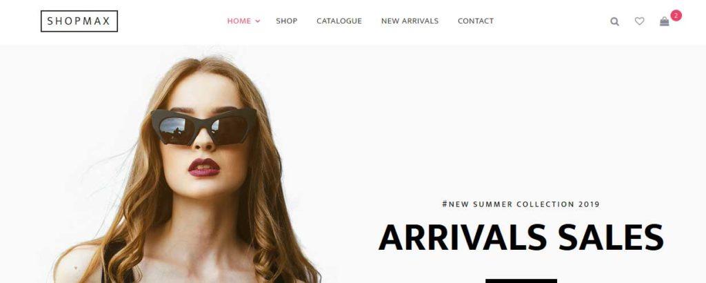 shopmax : thème responsive gratuit ecommerce de mode