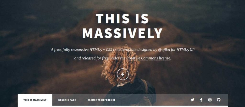 Thème html css responsive