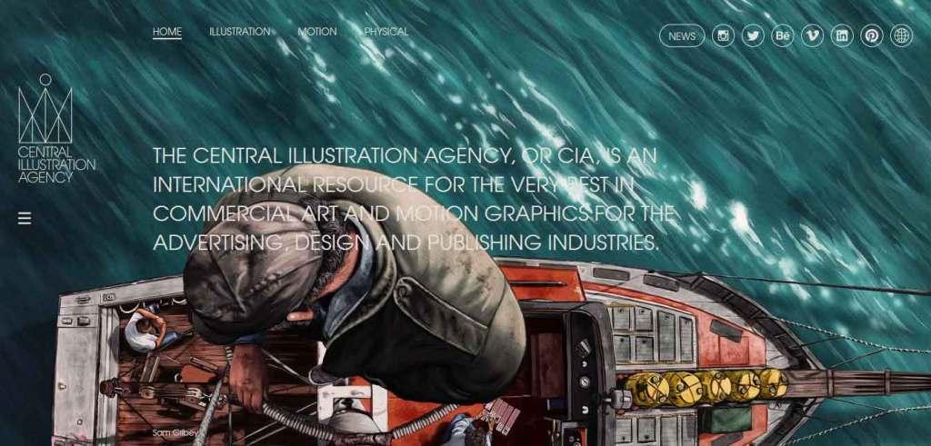 site central illustration agency