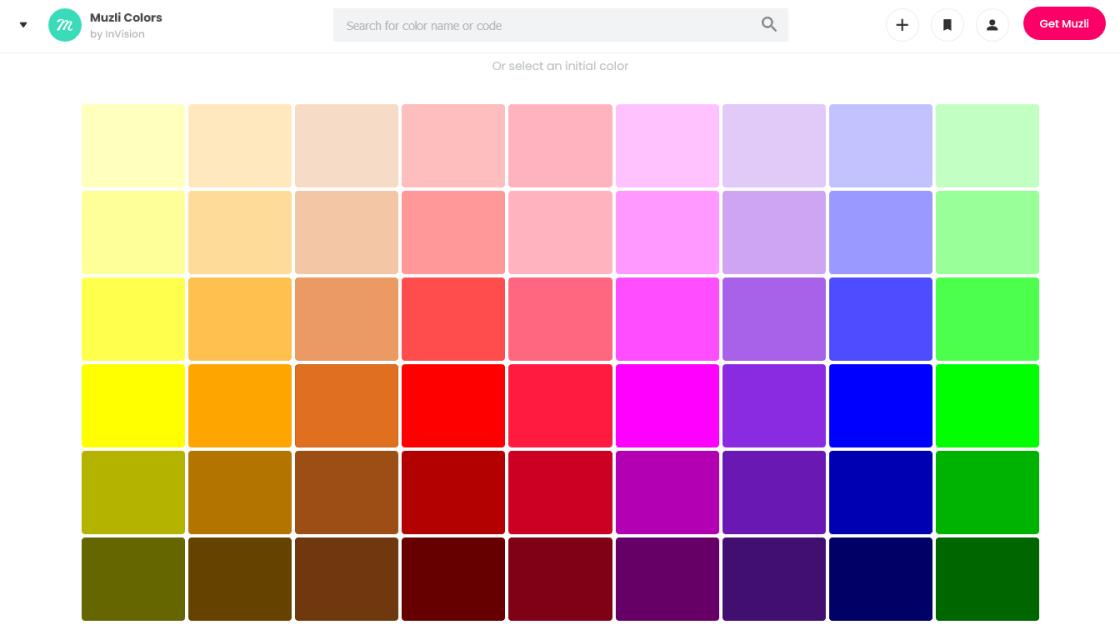 générateur de palette de couleurs