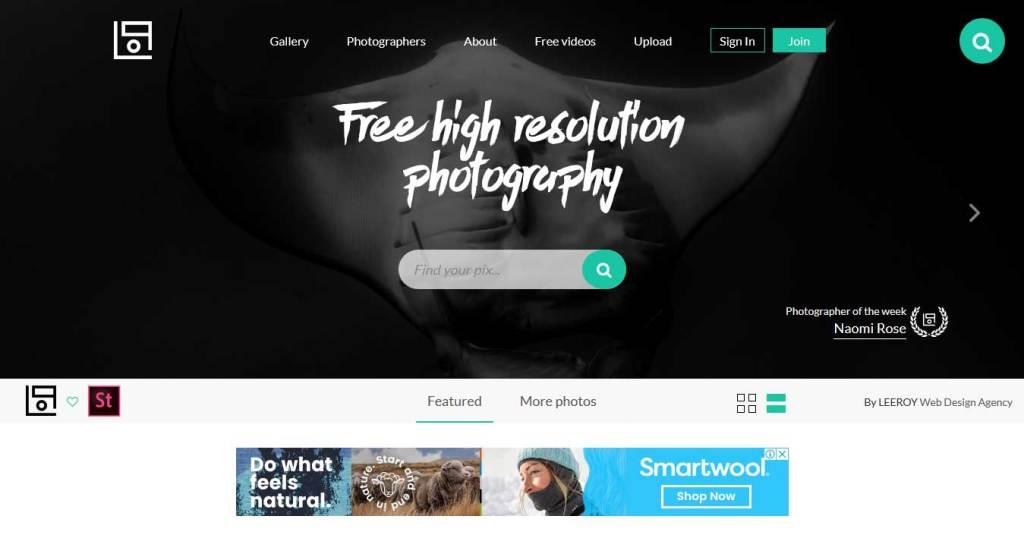 life of pix :  site d'images gratuites