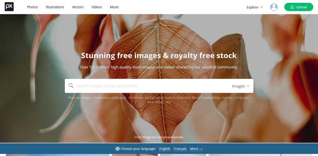 pixabay site de photos gratuites