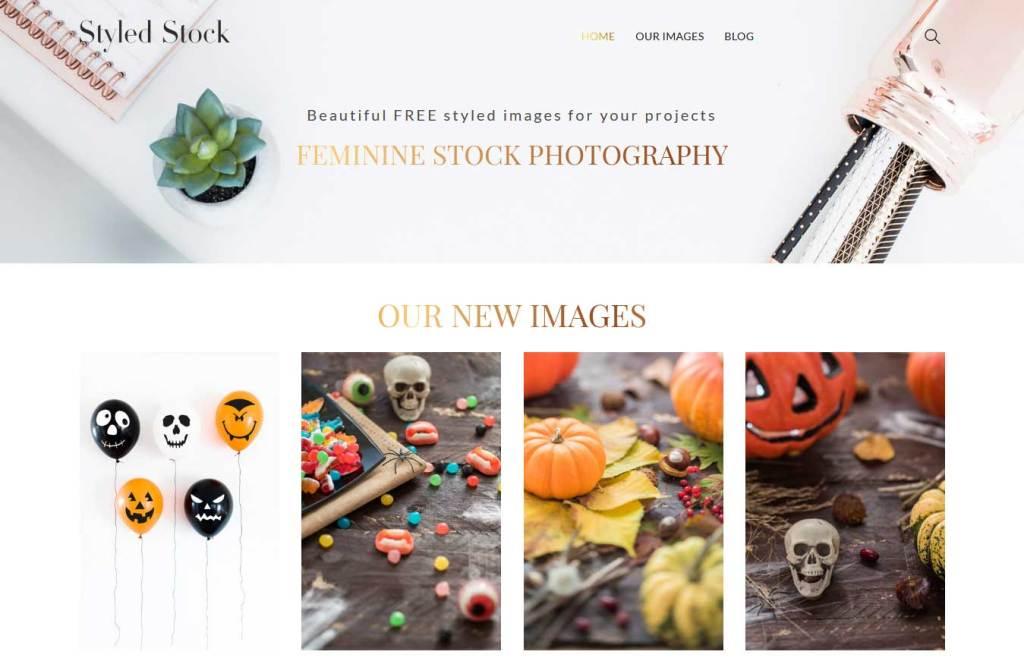 styledstock : site de photos gratuites