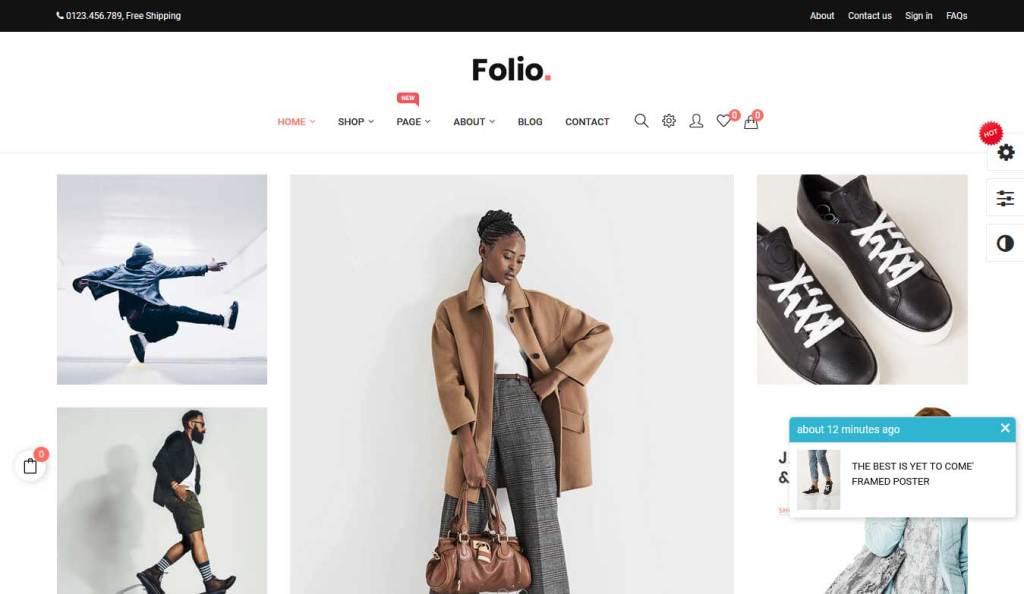 at folio : thème prestashop de mode