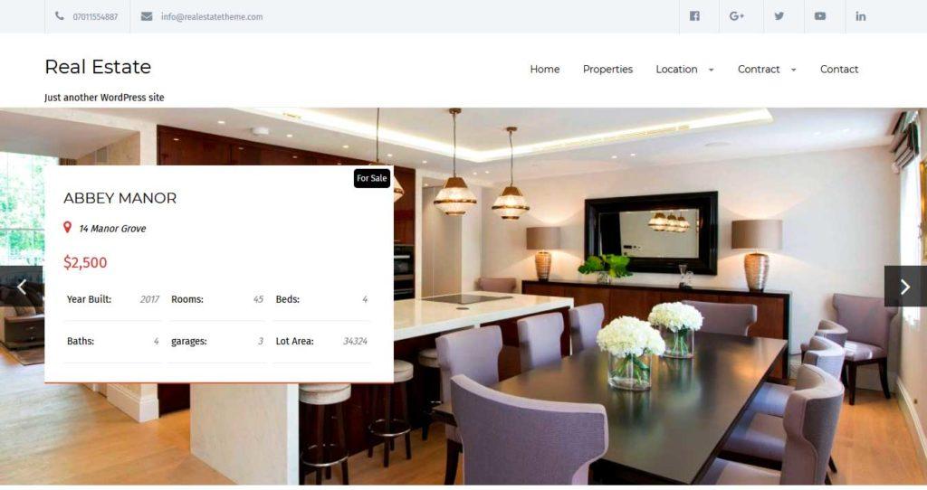real estate : thème immobilier gratuit