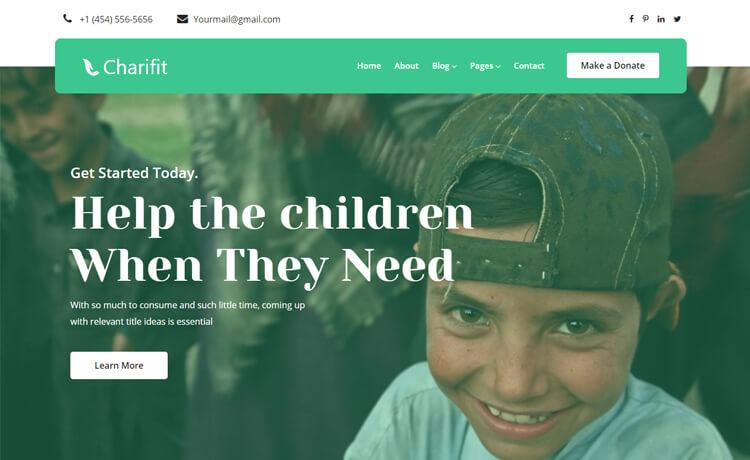 charifit : thèmes gratuits pour site d'association