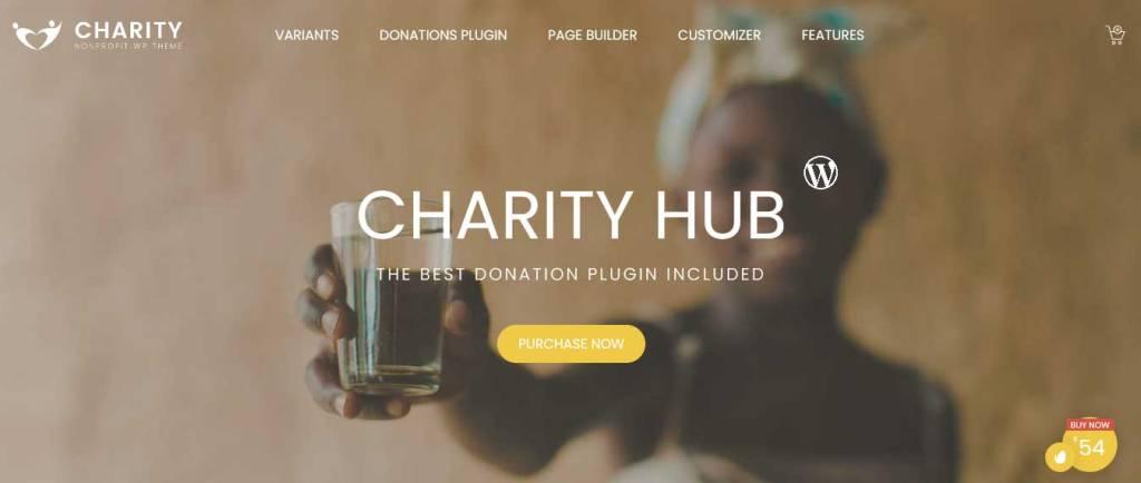 foundation : thèmes wordpress pour site d'association