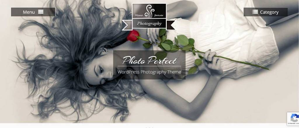 photo perfect : thèmes wordpress gratuits pour photographes