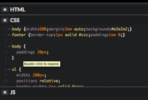 web design code snippets
