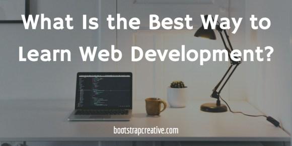 best way to learn web development