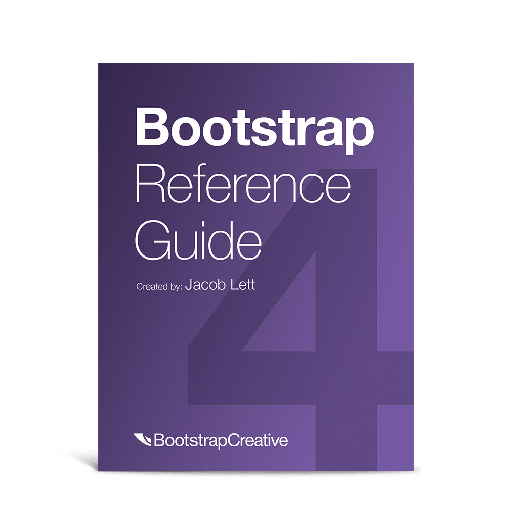 Bootstrap 4 Cheat Sheet - All Classes List with Descriptions