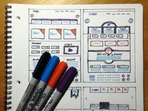 web design sketch 1