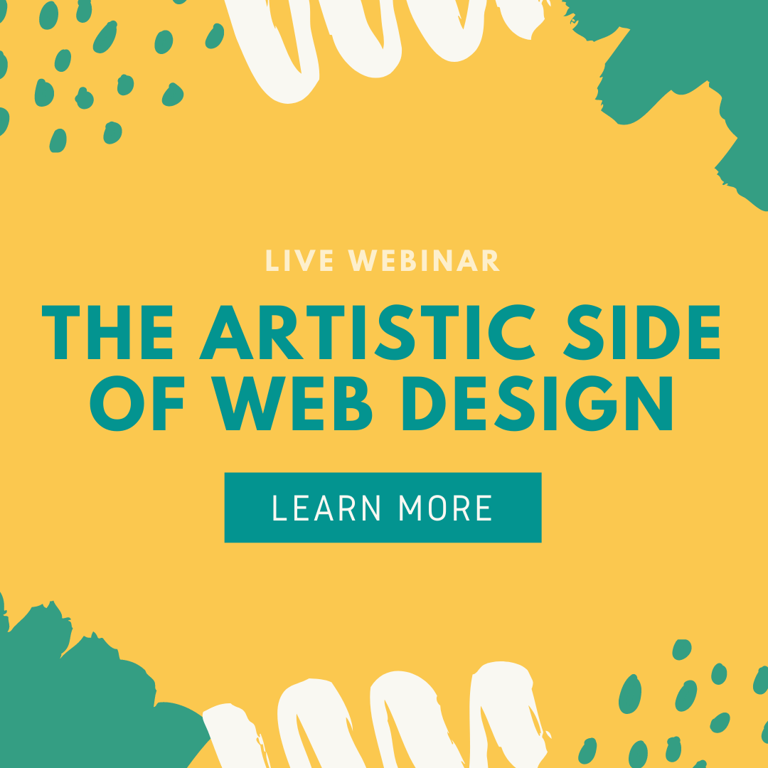 The Artistic Side of web design 1