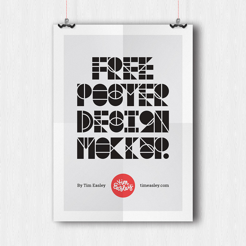 free psd poster mockups
