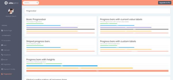 Elite Angular 8 Lite in Best Angular 8 Admin Dashboard Templates