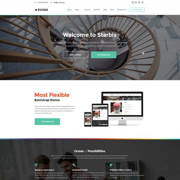 Starbis Bootstrap Template