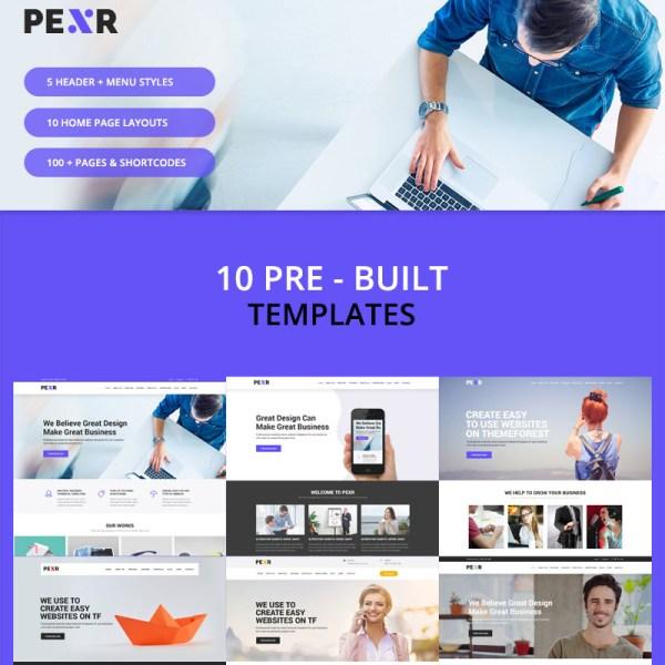 Pexr Bootstrap Template
