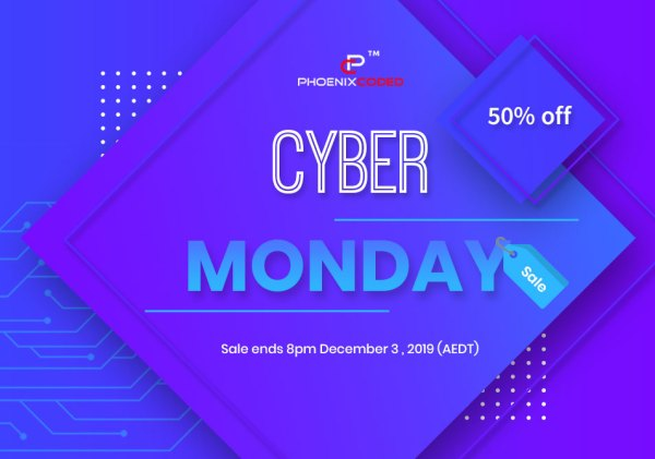 Black Friday & Cyber Monday Deal Sale 2019