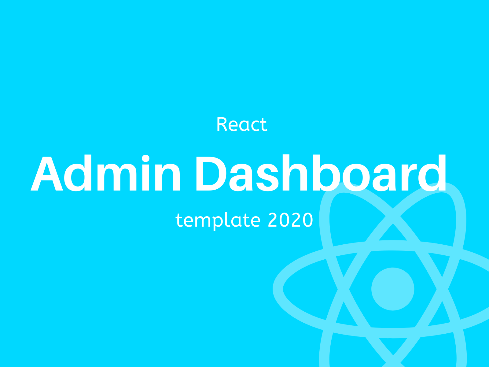 Best react admin dashboard