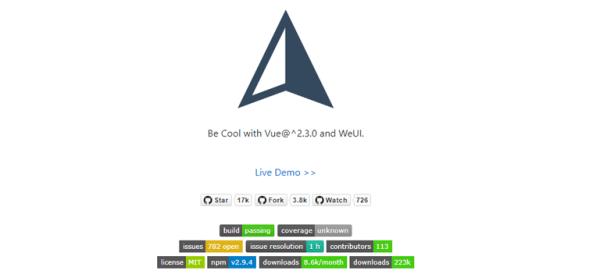 vux - Vue component library