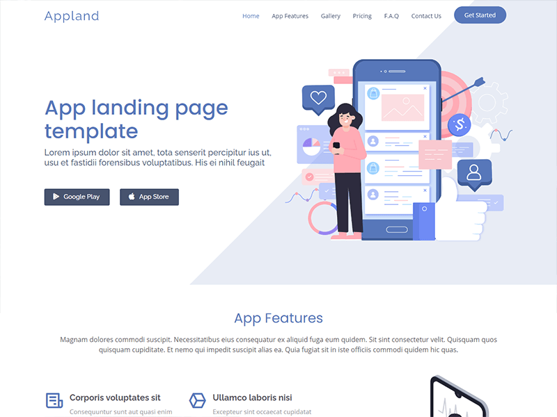 Easily edit online, print or share via email. Best Website Templates 2021 Bootstrapmade