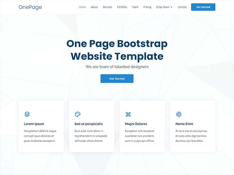 Next, add fonts, images, and colors that fit with your theme and your brand or personality. Best Website Templates 2021 Bootstrapmade