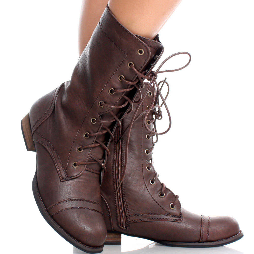 Image result for brown combat boots womens