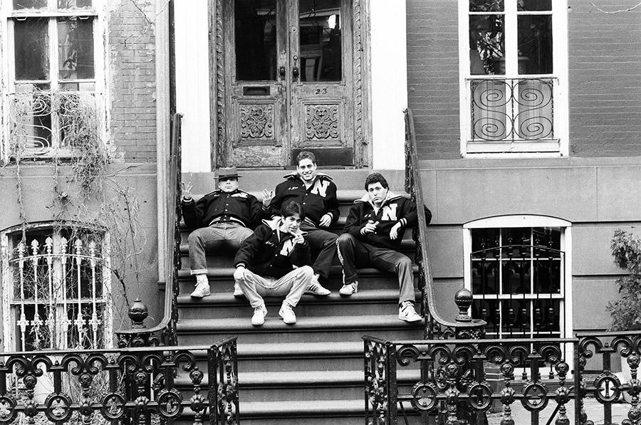 Booty T. & Neighborhood Crew in the 80's