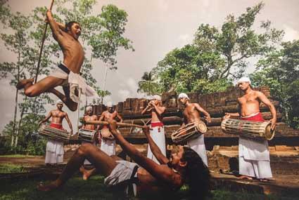 foto: optreden Sri Lankanen