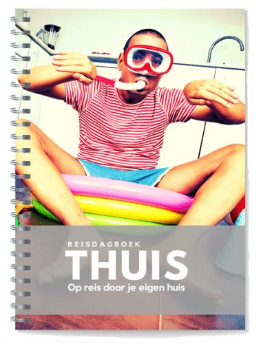 voorzijde reisdagboek Thuis