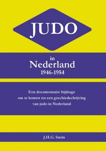 omslag van het boek Judo in Nederland 1946-1954