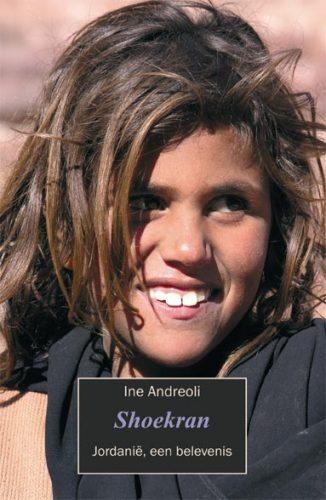 Omslag van de bijzondere uitgave Shoekran, reis door Jordanië