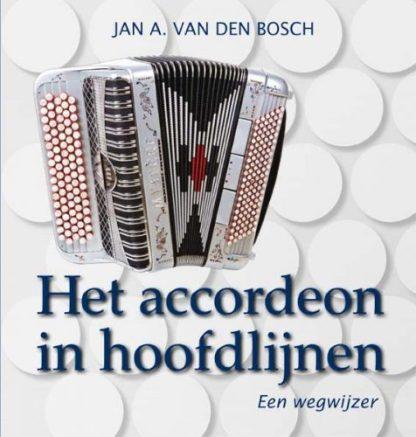 Het omslag van Het accordeon in hoofdlijnen