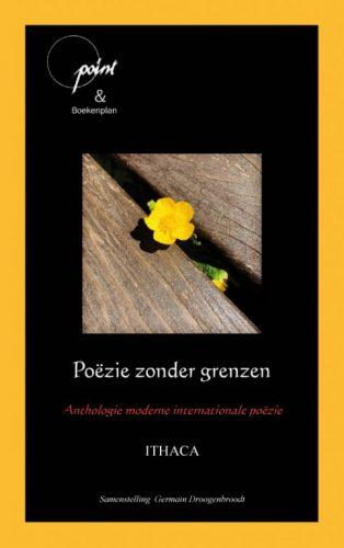 Omslag van poëzie zonder grenzen een groot aantal vertaalde gedichten uit vele landen