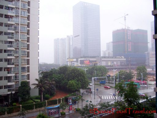 View from my first apartment in Nanshan district