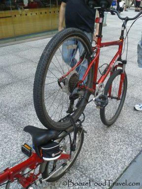 Welcome to Matt's bike towing service