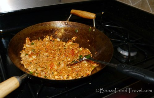 Looks tasty in the wok