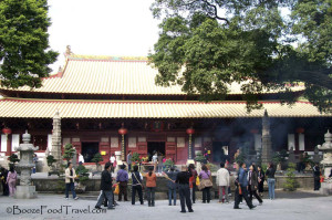 Main hall at Guangxiao Temple