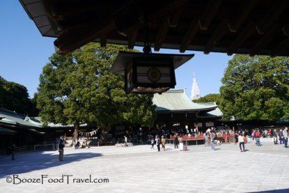 Inside Meiji Shrine