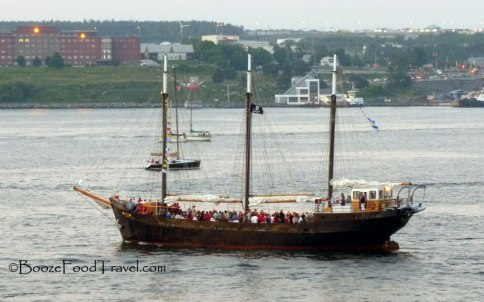 Is that a pirate ship in Halifax?