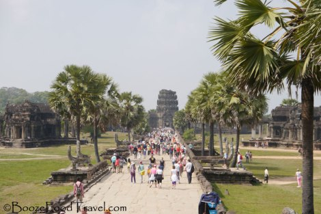 More Crowds at Angkor Wat