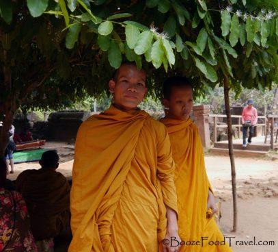 Humble monk or aspiring photographer?