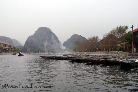 Boats at Nam Coc