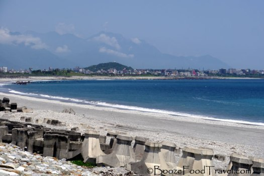 The coast near Hualien